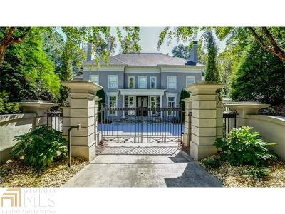 Buckhead Single Family Home For Sale: 3435 Habersham Rd