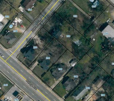 Elberton GA Multi Family Home For Sale: $160,000