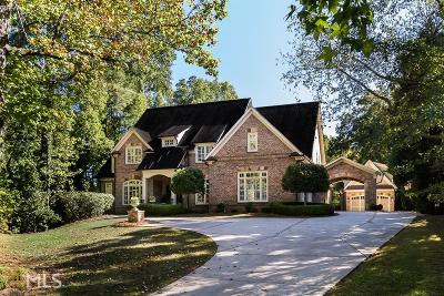 Sandy Springs Single Family Home For Sale: 37 Mount Paran Rd