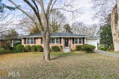Decatur Single Family Home For Sale: 1341 Nalley Cir
