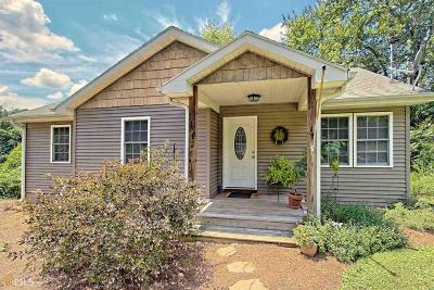 Clayton, Clarkesville, Tiger Single Family Home For Sale: 65 Mountain City Rd