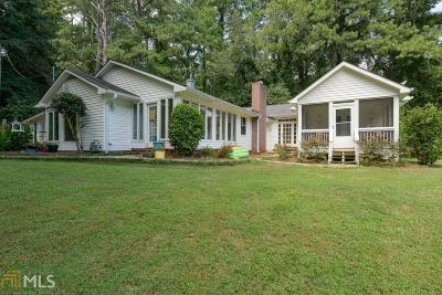 Acworth Single Family Home For Sale: 2143 Mars Hill Rd
