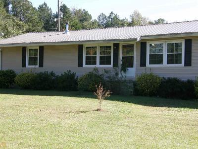 Grantville Single Family Home For Sale: 444 Minnie Sewell Rd