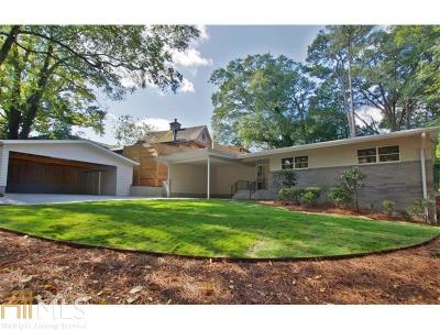 Peachtree Hills Single Family Home For Sale: 2328 Virginia Pl