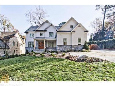 Buckhead Single Family Home For Sale: 4225 Wieuca Rd