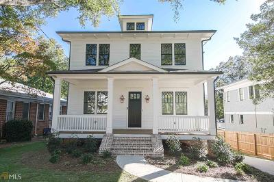 Decatur Single Family Home For Sale: 109 E Hill St