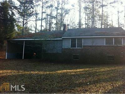 Douglasville Single Family Home Under Contract: 7566 N Hwy 92