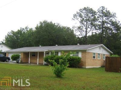 Kingsland GA Single Family Home For Sale: $125,000