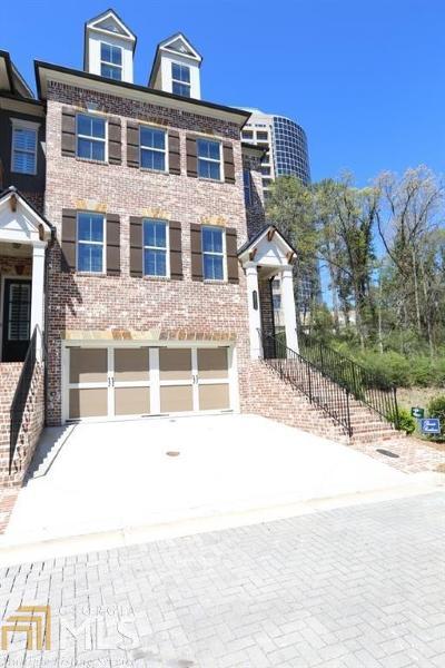 Cobb County Condo/Townhouse For Sale: 3271 Matthewson Way