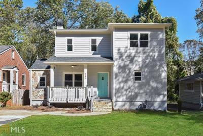 Dekalb County Single Family Home For Sale: 163 Rockyford Rd