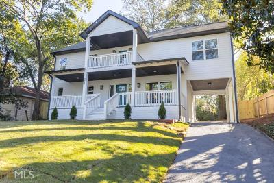 Grant Park Single Family Home For Sale: 772 Boulevard Ave