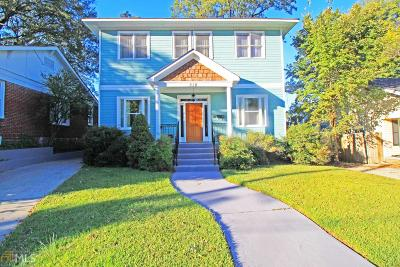 Old Fourth Ward Single Family Home For Sale: 518 Winton Terr