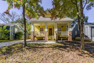 DeKalb County Single Family Home Back On Market: 311 SE Lamon Ave