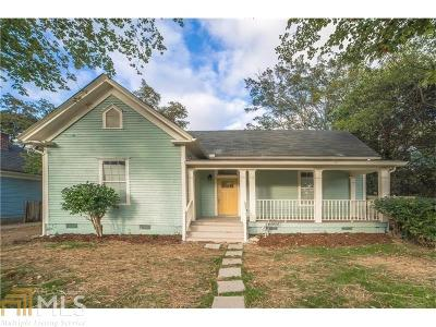 West End Single Family Home For Sale: 1033 White Oak Ave