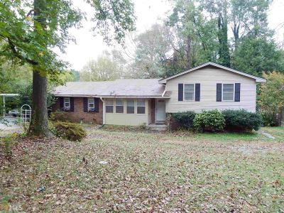Lilburn Single Family Home For Sale: 185 Killian Hilll Rd