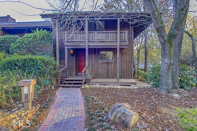 Peachtree City Condo/Townhouse Under Contract: 28 Fairway Ln