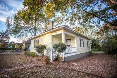 Social Circle GA Single Family Home For Sale: $164,900