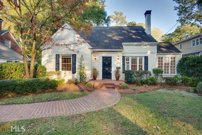 Virginia Highland Single Family Home For Sale: 1079 N Virginia Ave