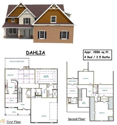 Locust Grove Single Family Home For Sale: 316 Cinnamon Bark Pass