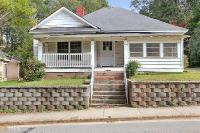 Coweta County Single Family Home For Sale: 92 Pinson St