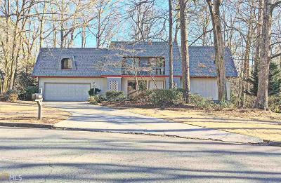 Roswell Single Family Home For Sale: 1155 Martin Ridge Rd