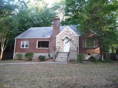 Decatur Single Family Home For Sale: 2184 W Ponce De Leon