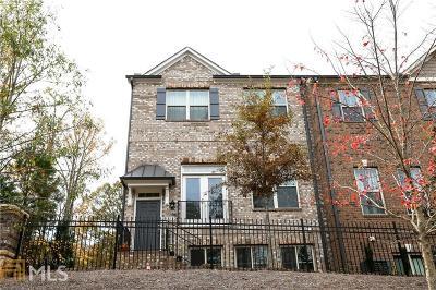 Johns Creek Condo/Townhouse For Sale: 5532 Cameron Parc Dr