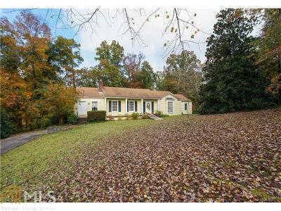 Sandy Springs Single Family Home For Sale: 277 Mount Vernon Hwy