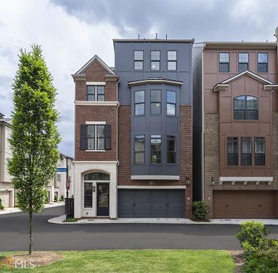 Atlanta Single Family Home For Sale: 600 Broadview Ter #92