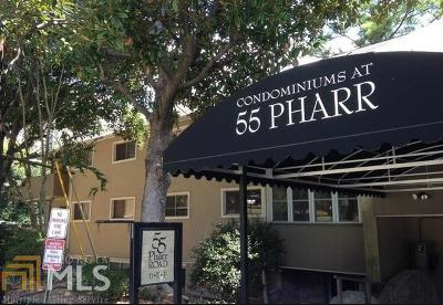 Fulton County Condo/Townhouse For Sale: 55 Pharr Rd #305