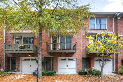 Tucker Condo/Townhouse For Sale: 1376 Idlewood Parc Xing
