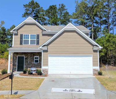 Hiram Single Family Home New: 280 Foggy Creek Ln #60