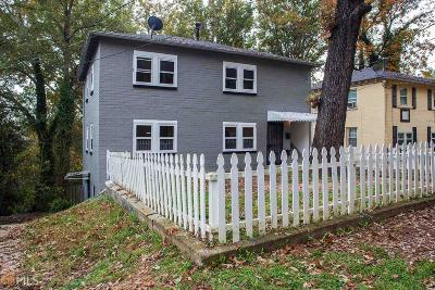 Fulton County Multi Family Home Under Contract: 2216 Telhurst St