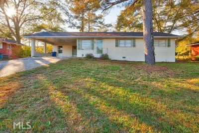 Clayton County Single Family Home New: 6857 Powers St