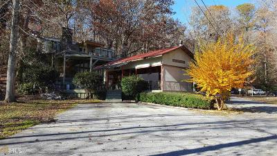 Clayton, Clarkesville, Tiger Single Family Home For Sale: 4960 Laurel Lodge Rd