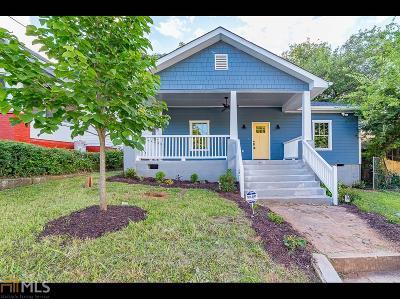 Fulton County Single Family Home New: 1221 Grant