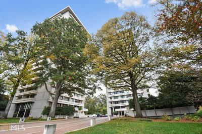 Plaza Towers Condo/Townhouse For Sale: 2575 Peachtree Rd #17-C