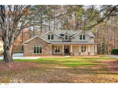 DeKalb County Single Family Home For Sale: 5217 Chamblee Dunwoody Rd