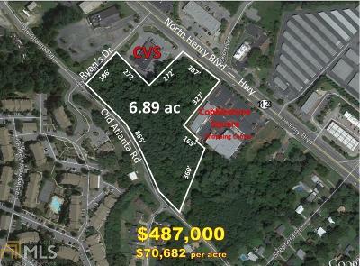 Stockbridge Farm For Sale: 5393 N Henry Blvd