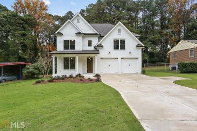 DeKalb County Single Family Home For Sale: 1890 Canmont Dr