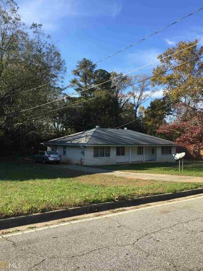 Clayton County Multi Family Home Under Contract: 4515 Glade Rd