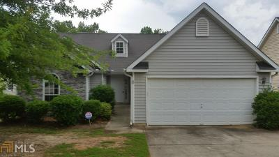 Fairburn Single Family Home New: 3989 Meadow Glen Way