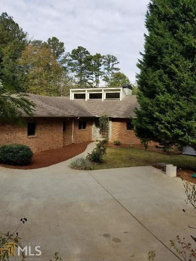 Marietta Single Family Home For Sale: 4320 Bishop Lake Rd
