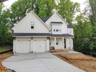 Cobb County Single Family Home New: 1584 Gaylor Cir #4