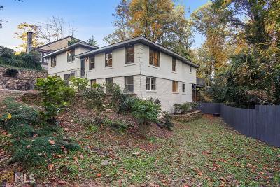 Atlanta Single Family Home New: 3131 Dale Dr