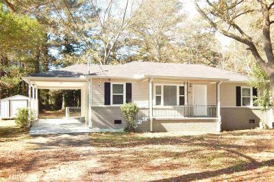 Cobb County Single Family Home New: 6190 Denny Ln