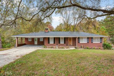 Cobb County Single Family Home New: 1210 Dunn Pkwy