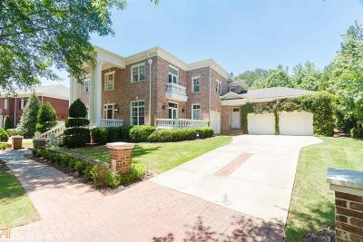 Alpharetta Single Family Home New: 8641 Ellard Dr