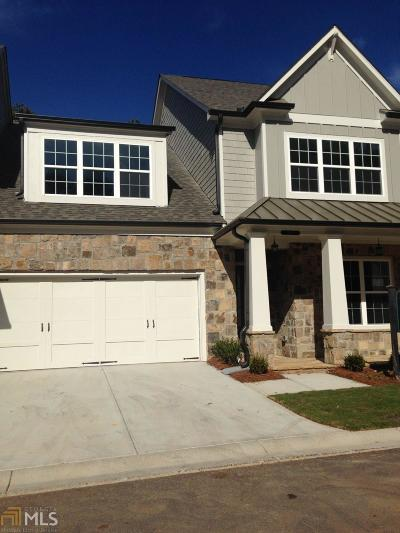 Cobb County Condo/Townhouse New: 3511 Oakshire Dr