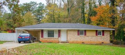 Cobb County Single Family Home New: 3078 Hicks Rd
